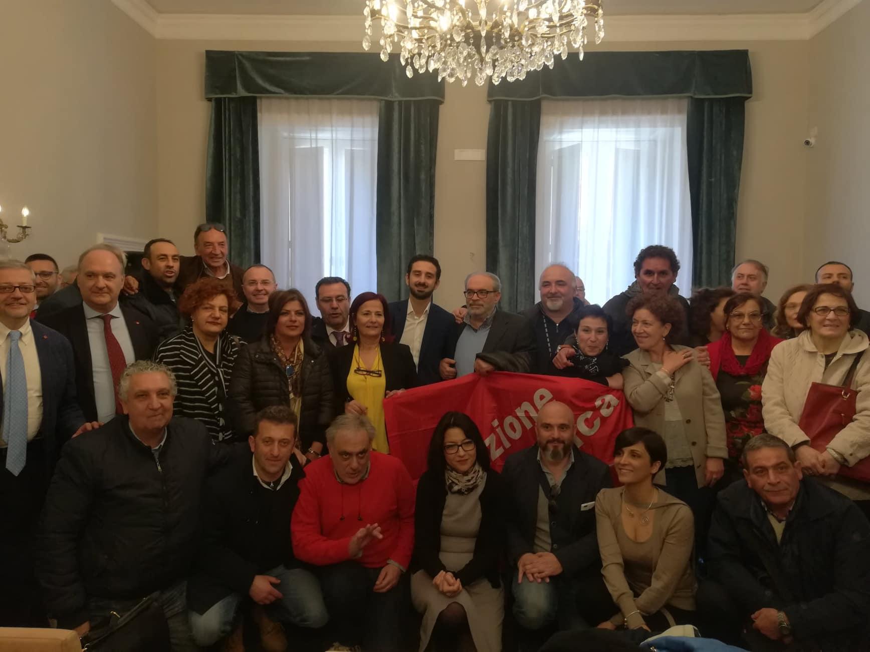 foto elezione segretario fp cgil salerno