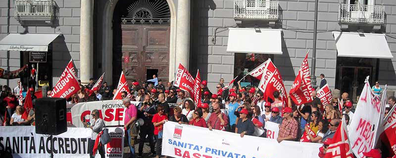 foto cgil sanita privata home