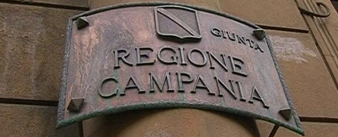 foto insegna regione campania