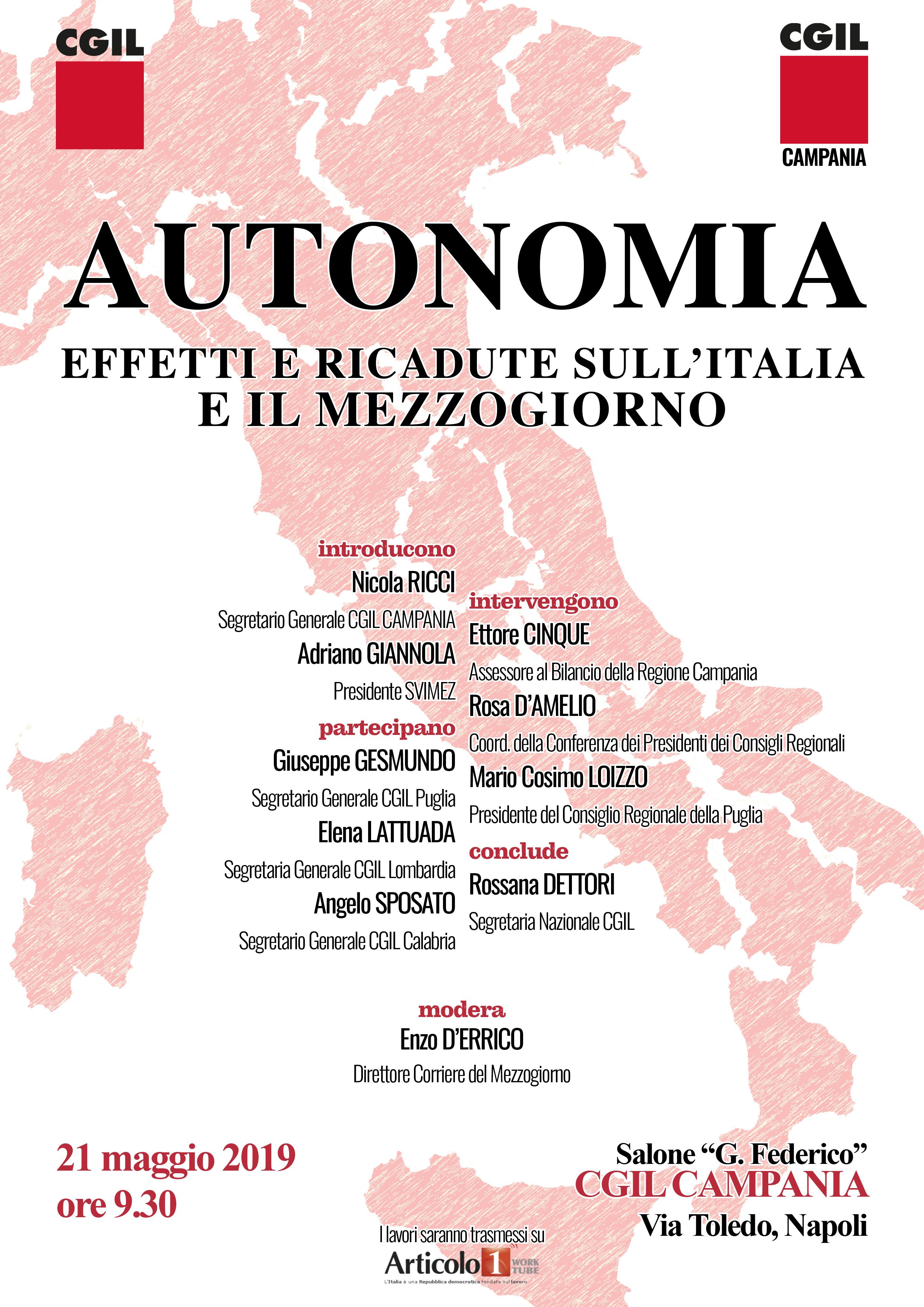 locandina iniziativa autonomia
