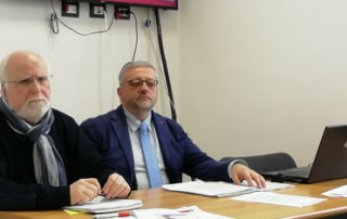 foto conferenza stampa crisi industriali