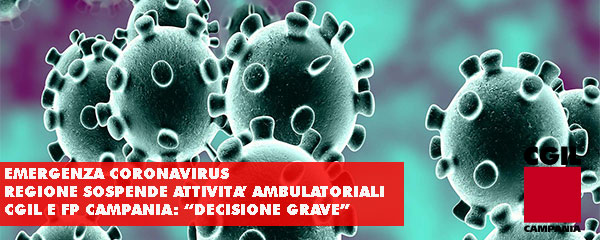 foto coronavirus cgil fp