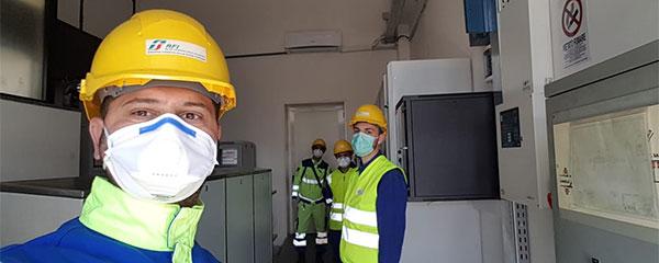 foto lavoratori rfi manutenzione