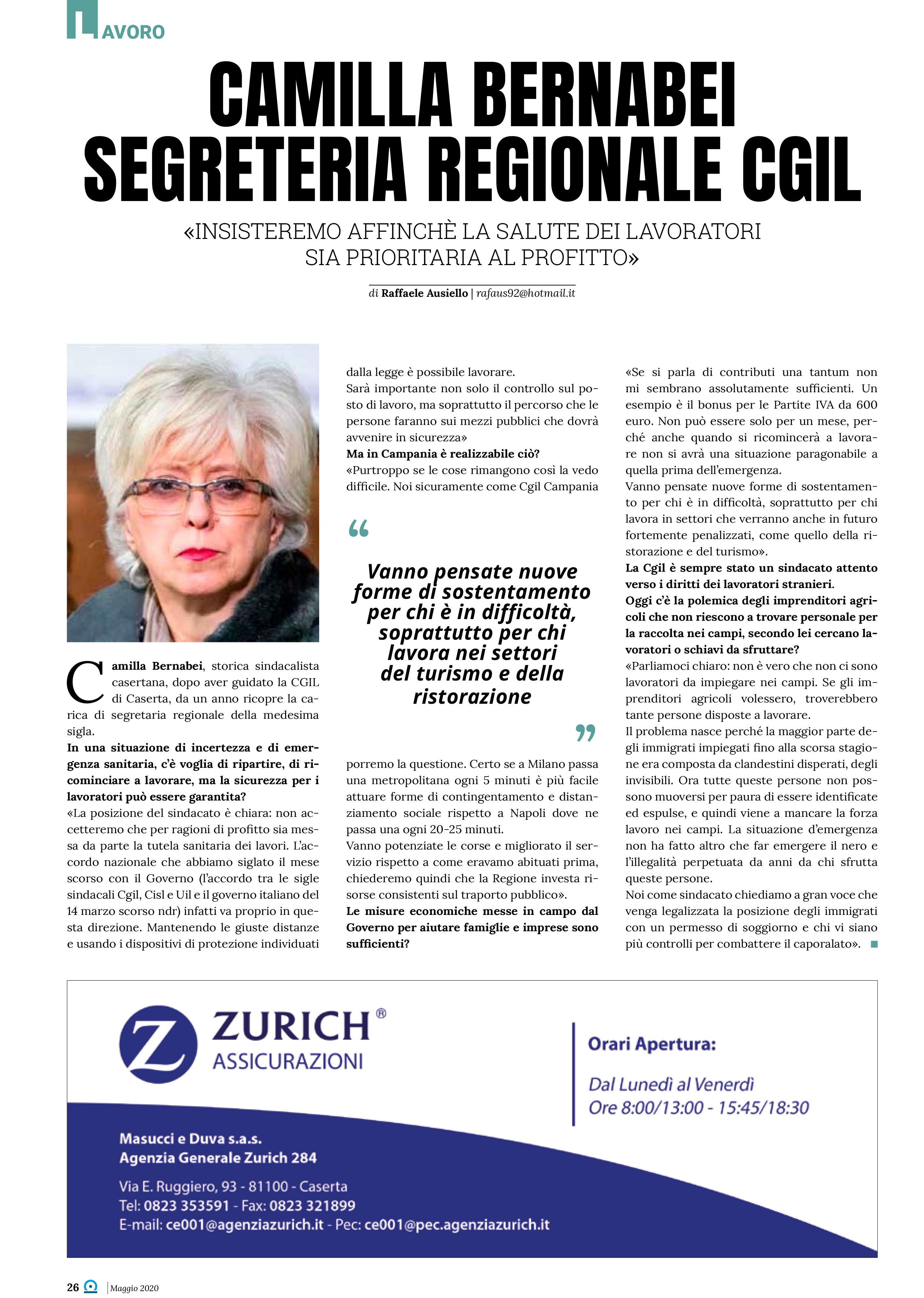 intervista bernabei magazine informare