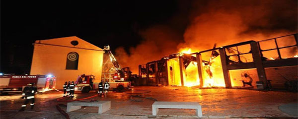 foto incendio città scienza web